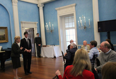 Patrons Luncheon at Gracie Mansion