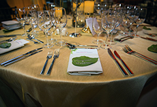 2019 Gala table setting
